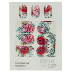 Наклейки для ногтей переводные `PINK UP` NAIL DESIGN тон 558