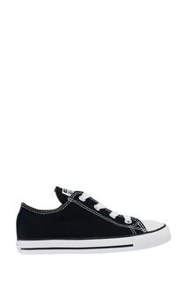 Черные кеды из текстиля Converse