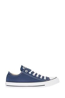Синие кеды из текстиля Converse