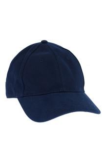Синяя кепка из хлопка Moncler