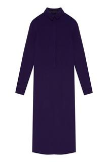 Шелковое платье-рубашка Haider Ackermann