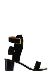 Черные замшевые босоножки Isabel Marant