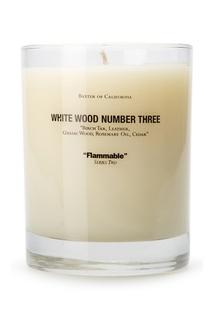 Ароматическая свеча «White Wood 3» Baxter Of California