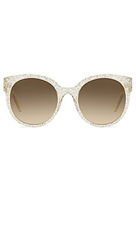 Солнцезащитные очки round-frame acetate - Gucci