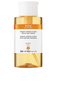 Ежедневный тоник aha ready set glow - REN Clean Skincare