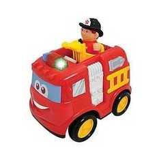 Kiddieland Развивающая игрушка Пожарная машина KID 042937