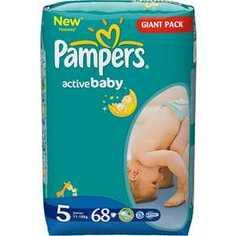Подгузники Pampers Active Baby 11-18кг 68шт 4015400264934