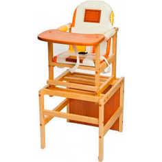 Стол-стул для кормления ПМДК Октябренок (капучино/светлый дуб/бук)