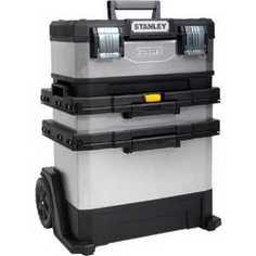 Ящик для инструментов Stanley с колесами Rolling Workshop (1-95-833)