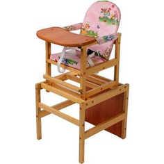 Стол-стул для кормления ПМДК Октябренок (капитошка/светлый дуб)