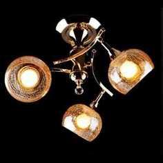 Люстра Eurosvet 3353/3Н золото/коричневый
