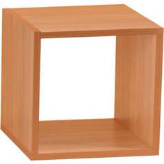 Полка Вентал Арт Кубик-1 вишня