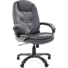 Офисное кресло Chairman 668 эко серый