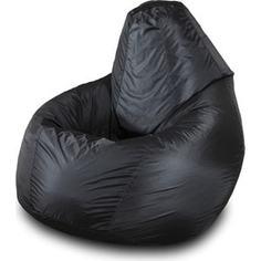 Кресло-мешок Груша Пазитифчик БМО1 черный