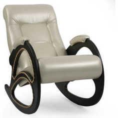 Кресло-качалка Мебель Импэкс Модель 4 с лозой Орегон перламутр 106