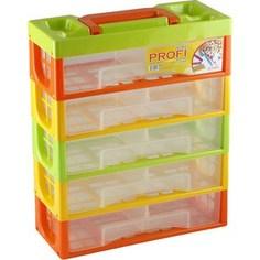 Ящики для игрушек Полимербыт Профи Kids Мультибокс 5 Секций 50001