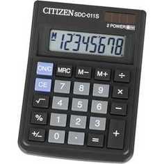 Калькулятор Citizen SDC-011S черный
