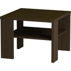 Журнальный стол MetalDesign Смарт MD 734.02.02 корпус-венге/ стекло-венге