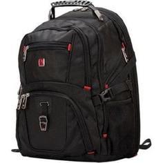 Рюкзак для ноутбука Continent BP-301 BK (нейлон до 16)