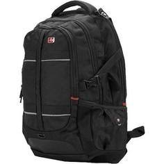 Рюкзак для ноутбука Continent BP-302 BK (нейлон до 16)