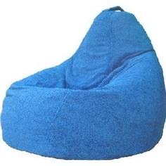 Кресло-мешок POOFF Груша голубой