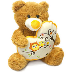 Мягкая игрушка Макси Тойз Мишка Берни с сердцем 30 см (MT-SUT101303-30)