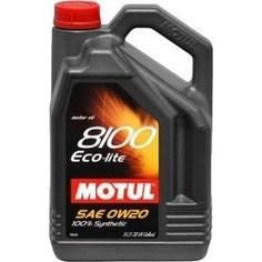 Моторное масло MOTUL 8100 Eco- lite 0w-20 5 л