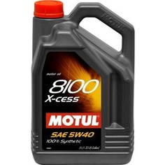 Моторное масло MOTUL 8100 X-cess 5w-40 5 л