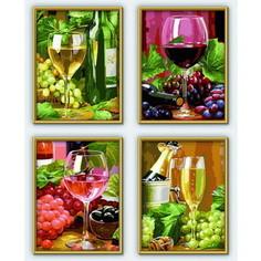 Раскраска Schipper 4 картины Вино (9340610)