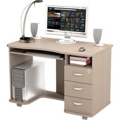 Стол компьютерный ВасКо КС 20-40 - дуб молочный