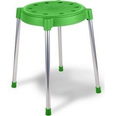 Табурет Sheffilton SHT-S36 зеленый/хром, (4 штуки)