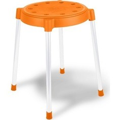 Табурет Sheffilton SHT-S36 оранжевый/серый, (4 штуки)