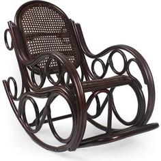 Кресло-качалка Мебель Импэкс Novo орех с подушкой