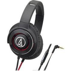 Наушники Audio-Technica ATH-WS770 iS black/red