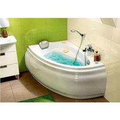 Ванна Cersanit Joanna 150x95 см, левая, белая (P-WA-JOANNA*150-L)
