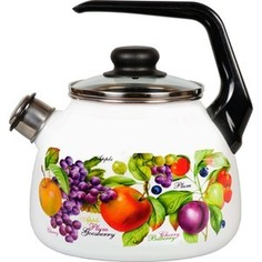 Чайник эмалированный со свистком 3.0 л Vitross Confitura (1RC12)