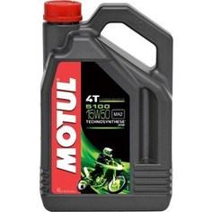 Моторное масло MOTUL 5100 4T 15W-50 4 л