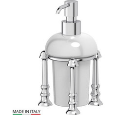Емкость для жидкого мыла настольная 3SC Stilmar UN хром (STI 029)