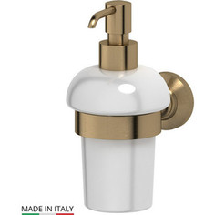Держатель с емкостью для жидкого мыла 3SC Stilmar античная бронза (STI 505)