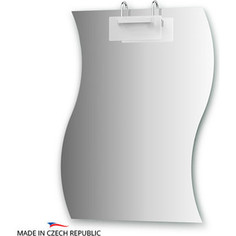 Зеркало Ellux Mode 70х90 см, со светильником 100 W (MOD-C1 0426)