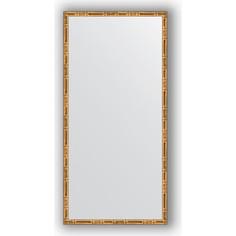 Зеркало в багетной раме Evoform Definite 47x97 см, золотой бамбук 24 мм (BY 0695)