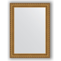 Зеркало в багетной раме Evoform Definite 54x74 см, золотой акведук 61 мм (BY 0798)