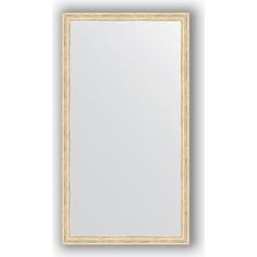 Зеркало в багетной раме Evoform Definite 73x133 см, слоновая кость 51 мм (BY 1100)