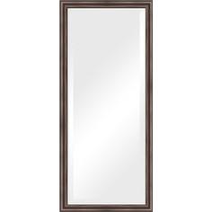 Зеркало с фацетом в багетной раме Evoform Exclusive 71x161 см, палисандр 62 мм (BY 1204)