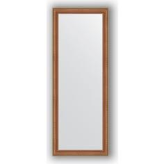 Зеркало в багетной раме Evoform Definite 55x145 см, бронзовые бусы на дереве 60 мм (BY 3107)
