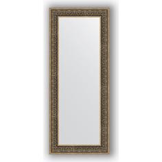 Зеркало в багетной раме Evoform Definite 63x153 см, вензель серебряный 101 мм (BY 3128)