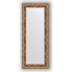 Зеркало с фацетом в багетной раме Evoform Exclusive 55x135 см, виньетка античная бронза 85 мм (BY 3514)