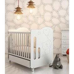 Кроватка Micuna Globito 120*60 white