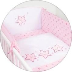 Матраc пеленальный Ceba Baby 70*85 см мягкий на комод Stars pink W-134-066-130