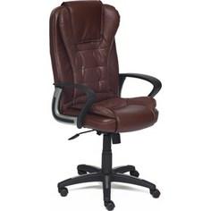Кресло TetChair BARON кож/зам коричневый/коричневый перфорированный 2 TONE/2 TONE /06